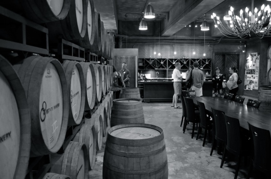 Tasting room at the 8th Estate Winery, Ap Lei Chau