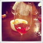 Rose wine tasting at 8th Estate Winery, Ap Lei Chau